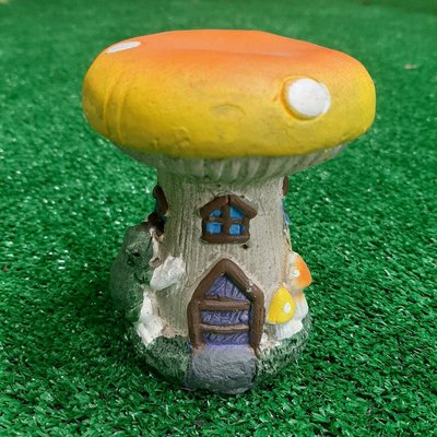 The Fairies Enchanted Garden Secret Fairy Garden - Mini Garden House - Mushroom