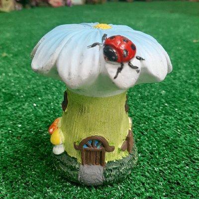 The Fairies Enchanted Garden Secret Fairy Garden - Mini Garden House - Flower