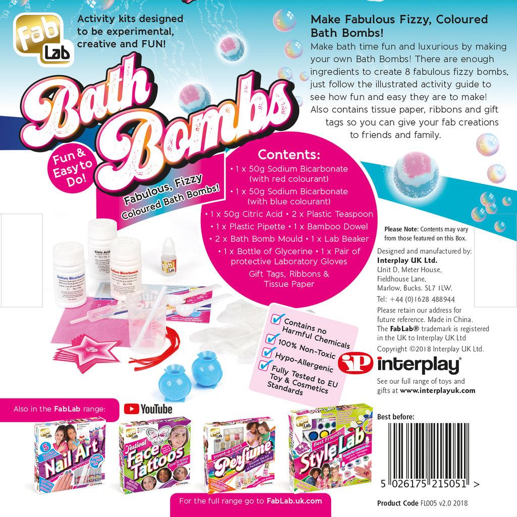 Fab Lab Fab Lab Bath Bombs