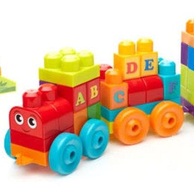 Mega Bloks Mega Bloks ABC Learning Train