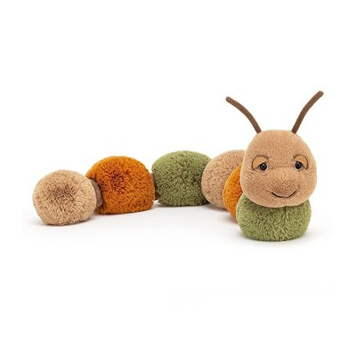 Jellycat - Colourful & Quirky Jellycat - Figgy Caterpillar
