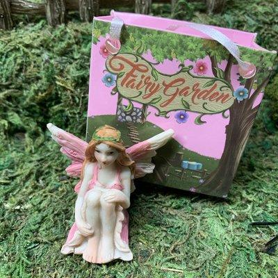 Flower Garden Fairy in Bag - Pink