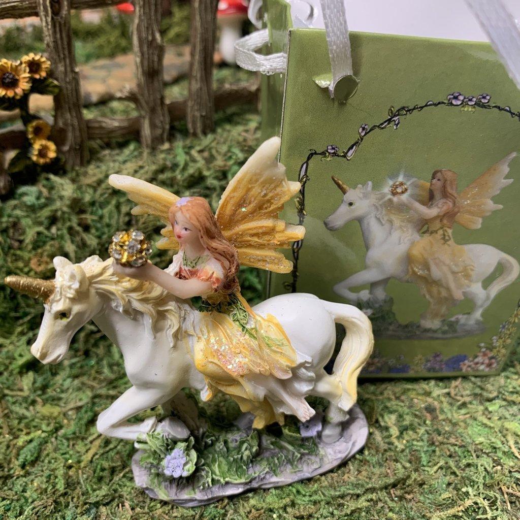 Flower Fairy & Unicorn  in a Bag - Yellow