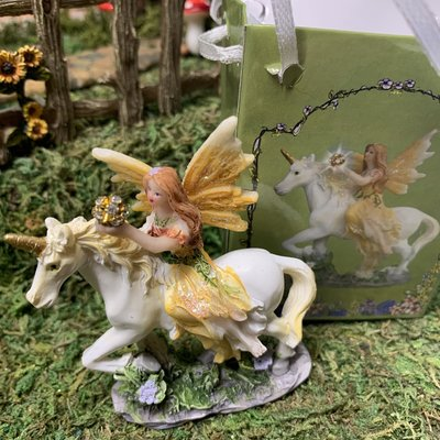 Flower Fairy & Unicorn  in a Bag - Yellow