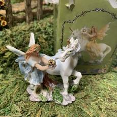Flower Fairy & Unicorn  in a Bag - Blue