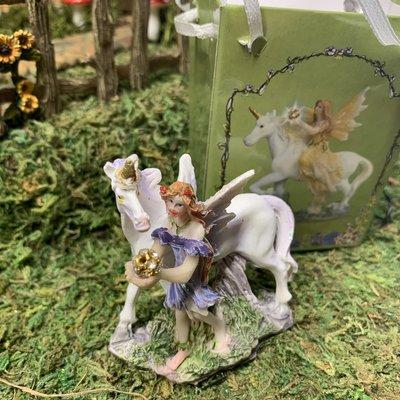 Flower Fairy & Unicorn  in a Bag - Lilac