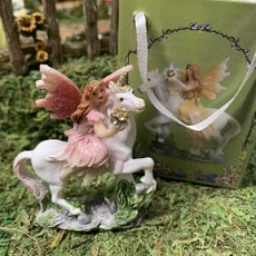 Flower Fairy & Unicorn  in a Bag - Pink