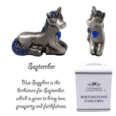 The Leonardo Collection Birthstone Unicorn