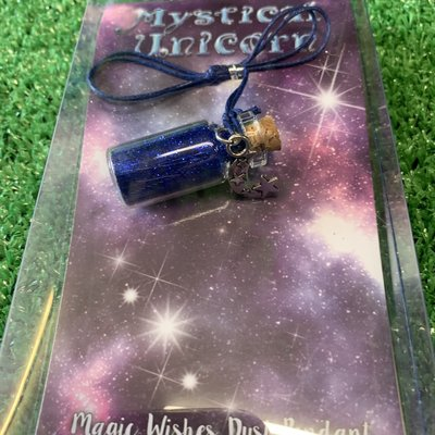 Mystical Unicorn Wishing Jar Pendant