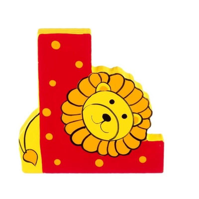 Orange Tree Toys Wooden Alphabet Letter L