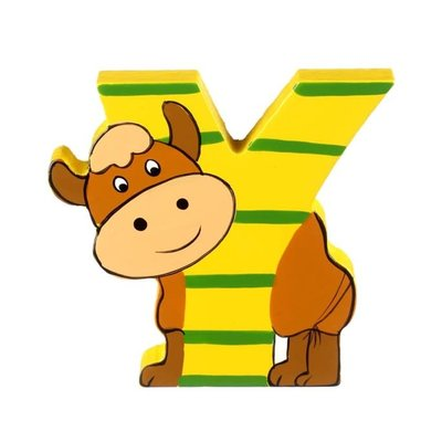 Orange Tree Toys Wooden Alphabet Letter Y
