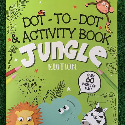 Dot to Dot & Activity Book