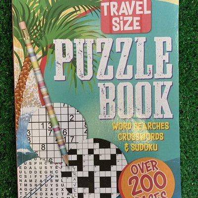 A5 Travel Puzzle Book