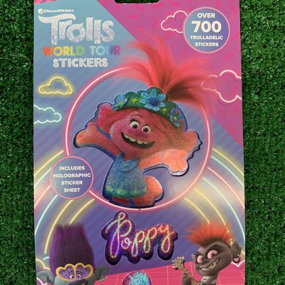 DreamWorks Trolls World Tour Stickers - 700+