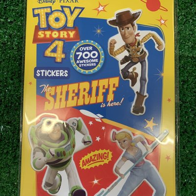 Disney Pixar Toy Story 4 Stickers - 700+
