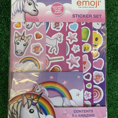 Emoji Unicorn Sticker Fun