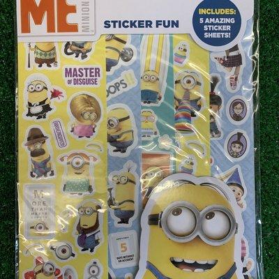 Despicable Me Sticker Fun
