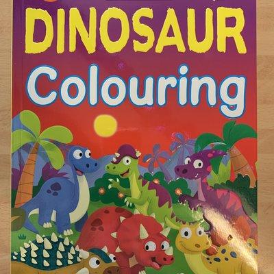 Bumper Dinosaur Colouring Book