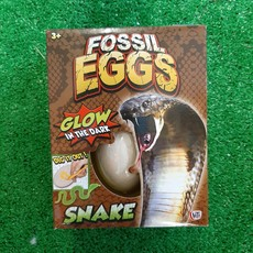 Hti Fossil Egg - Glow in the Dark Snake
