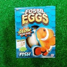 Hti Fossil Egg - Glow in the Dark Fish