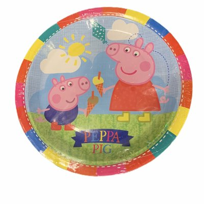 Peppa Pig Peppa Pig - 8 x 23cm Round Paper Plates