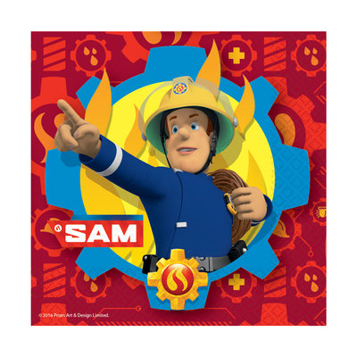 Fireman Sam Fireman Sam - 20 Napkins Pack
