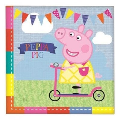 Peppa Pig Peppa Pig - 16 Napkins Pack