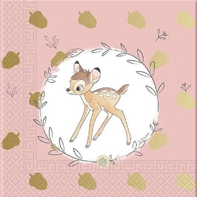 Disney Disney Bambi Cutie - 20 Napkins Pack