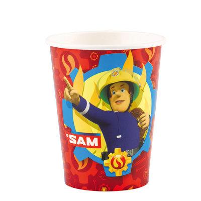 Fireman Sam Fireman Sam - 8 Paper Cups