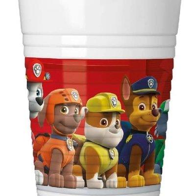 Paw Patrol Paw Patrol Red - 8 Plastic Cups