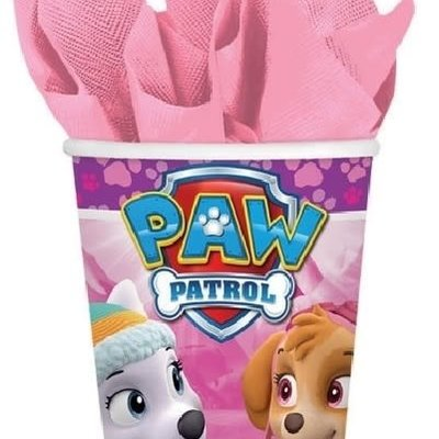 Paw Patrol Paw Patrol Pink - 8 Paper Cups