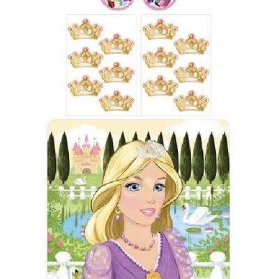 Princess Stick the Crown Game