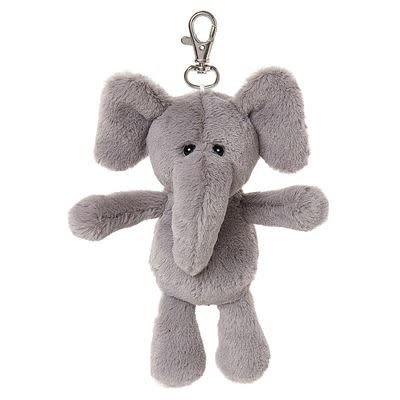 All Creatures Bag Charm Elephant Keyring - Hazel