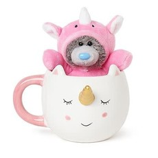Tatty Ted Unicorn Bear & Mug Set