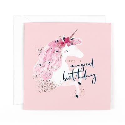 Hotchpotch Unicorn Magical Birthday Card