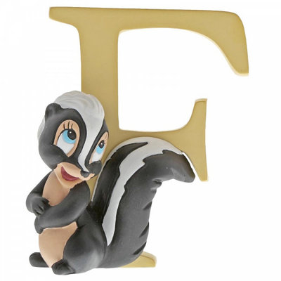 Disney Enchanting Collection Disney Alphabet - Letter F - Flower