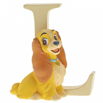 Disney Enchanting Collection Disney Alphabet - Letter L - Lady