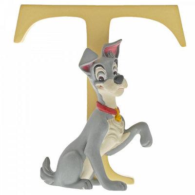 Disney Enchanting Collection Disney Alphabet - Letter T - Tramp