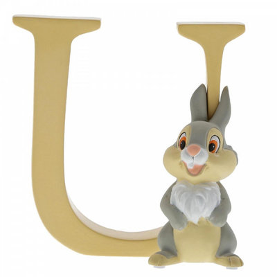 Disney Enchanting Collection Disney Alphabet - Letter U - Thumper