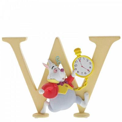 Disney Enchanting Collection Disney Alphabet - Letter W - White Rabbit