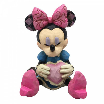 Disney Traditions Disney - Minnie Mouse with Heart Mini Figurine