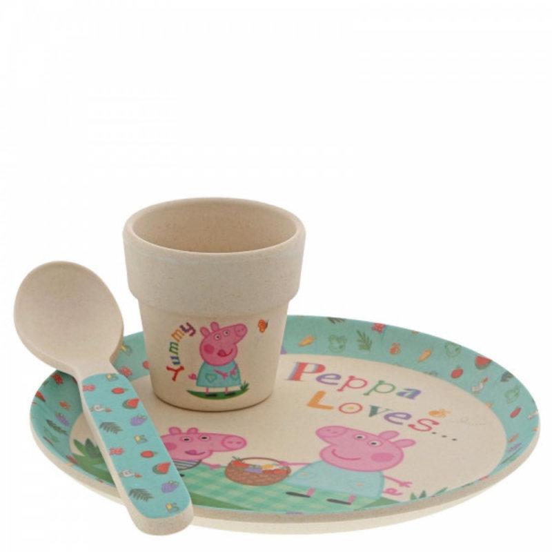 Peppa Pig Peppa Pig - Bamboo Egg Cup Set