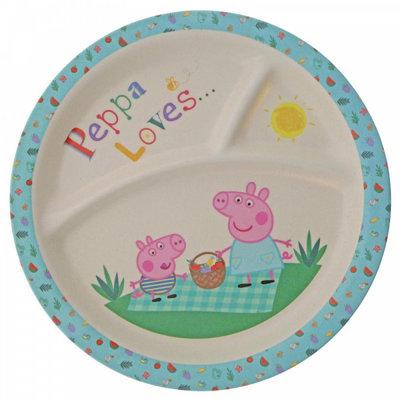 Peppa Pig Peppa Pig - Bamboo Plate