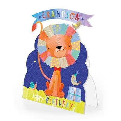 Hotchpotch Happy Birthday Grandson Card