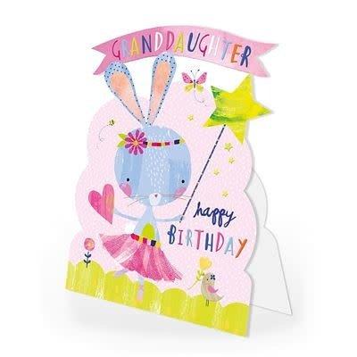 Hopchpotch Granddaughter Birthday Card