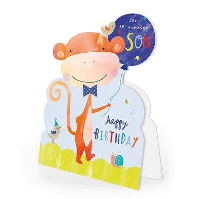 Hotchpotch Son Birthday Card