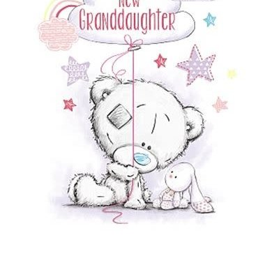Tatty Ted New Granddaughter Card