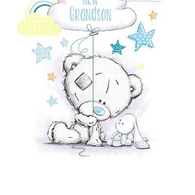 Tatty Ted New Grandson Card
