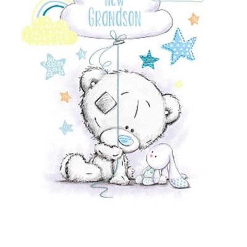 Tatty Ted New Grandson Card