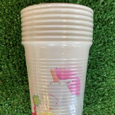Despicable Me 8 x Despicable Me Fluffy Plastic 200ml Cups